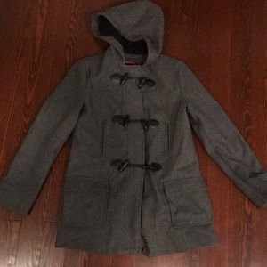 Merona Charcoal Pea Coat